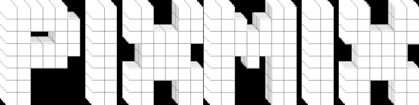 PixMix logo 3D