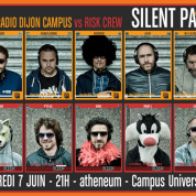 Silent RISK Party @ Atheneum - Dijon
