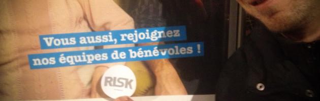 RISK recrute ses bénévoles !